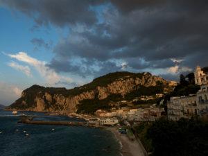 Storm Coming, Capri, Italy